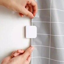Cortina adesiva parágrafo banheiro e chuveiro, 2 pçs/set grampos antiderramamento parar de vazamento de água parágrafo banheiro