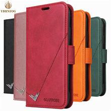 S8 S9 S10 S20 Фе кожаный чехол с откидывающейся крышкой для Samsung Galaxy A21S A11 A31 A41 A51 A71 A81 Магнитный чехол-бумажник держатель для карт чехол-подставка