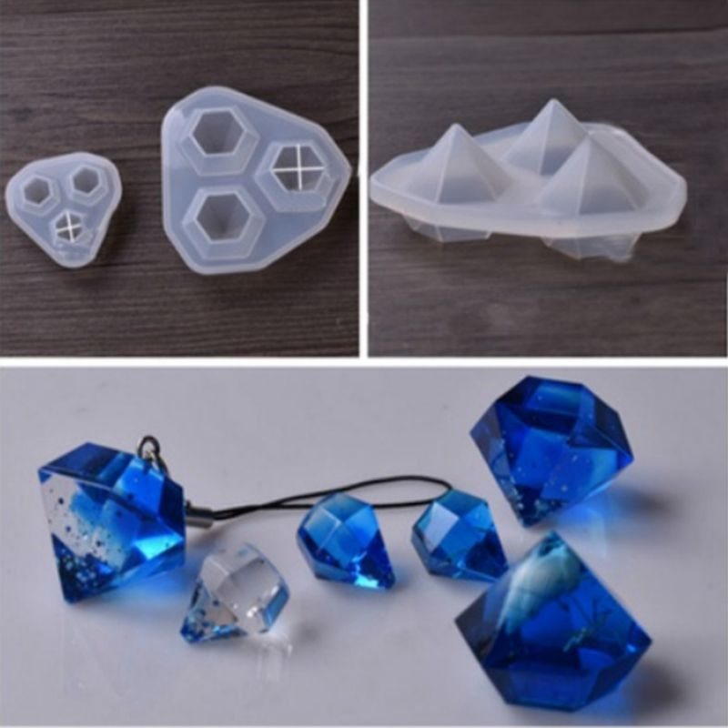 Silicone Mould Decorative Craft DIY Mold Cutting Shape Type Molds For Jewelry1 Set Of 2 (large + Small)
