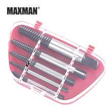 Экстрактор винтов с сломанной резьбой maxman треугольный инструмент