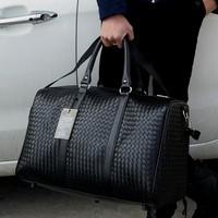 Travel Bag Large Capacity Men Hand Luggage Travel Duffle Bags Leather Handbag Multifunction Shoulder Bag Bolsos Weeke SA 8