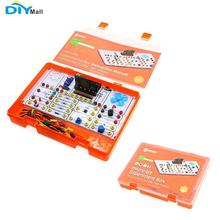 Micro:bit Experiment Box Kit Brand New Teaching Aid Transistor Resistor Trimpot Temperature Sensor Photocell Motor LED teaching magnet tool kit new pack incl horseshoe u type and compass ring bar rod magnets toy magnet for teaching and experiment
