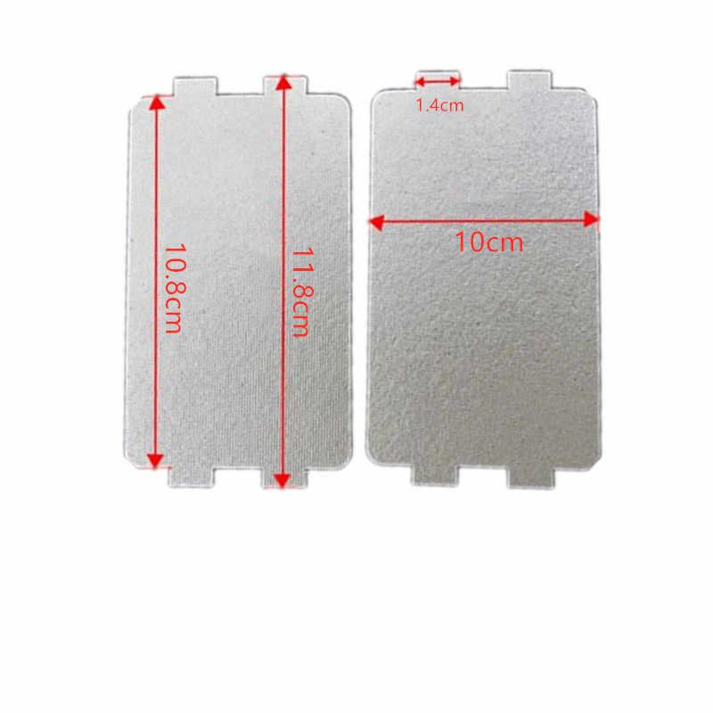 1pc 9.9 centimetri * 10.8cmcm Pezzi di Ricambio Ispessimento Mica Piatti Lenzuola per Galanz Forni A Microonde Midea Panasonic LG