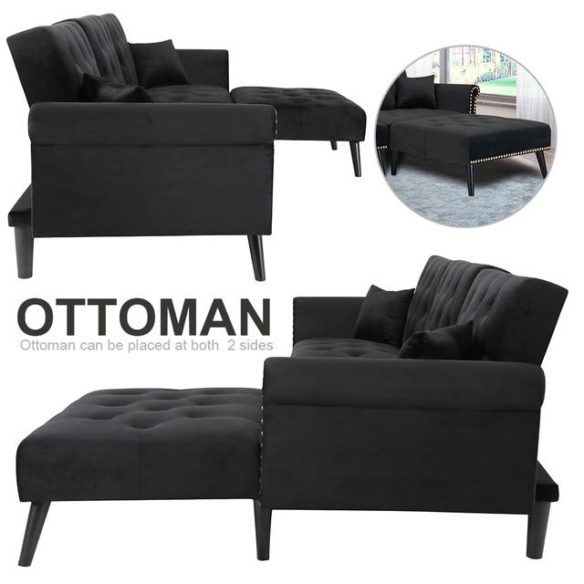 Convertible Sectional Sleeper Sofa 4