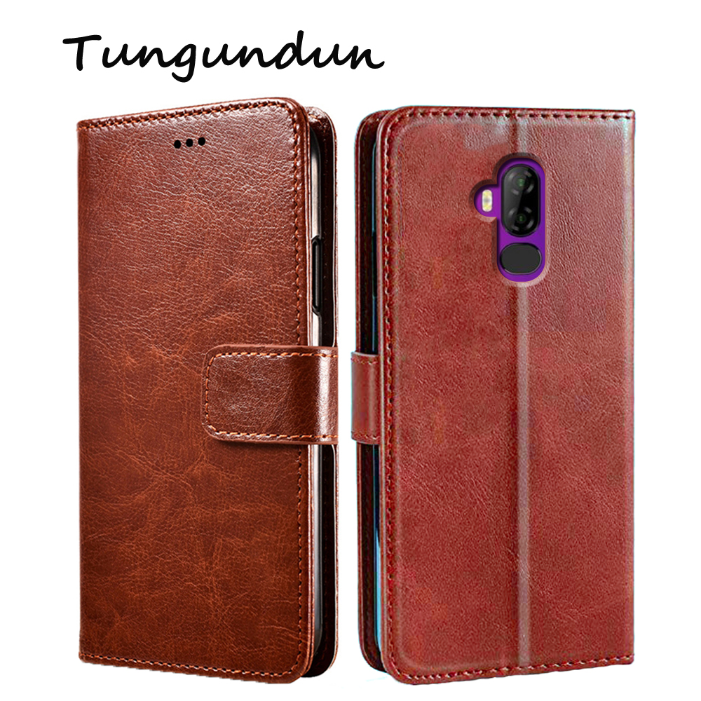 """For Ulefone Power 3L Flip PU Leather Mobile Phone Protector Card Holder Stand Cover For Ulefone Power 3 L Case Wallet Coque 6.0"""""""