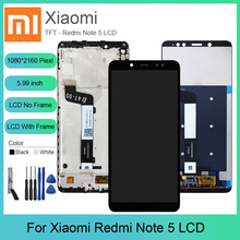 For Xiaomi Redmi Note 5 LCD Display Touch Screen Digitizer Assembly With Frame Pro Original