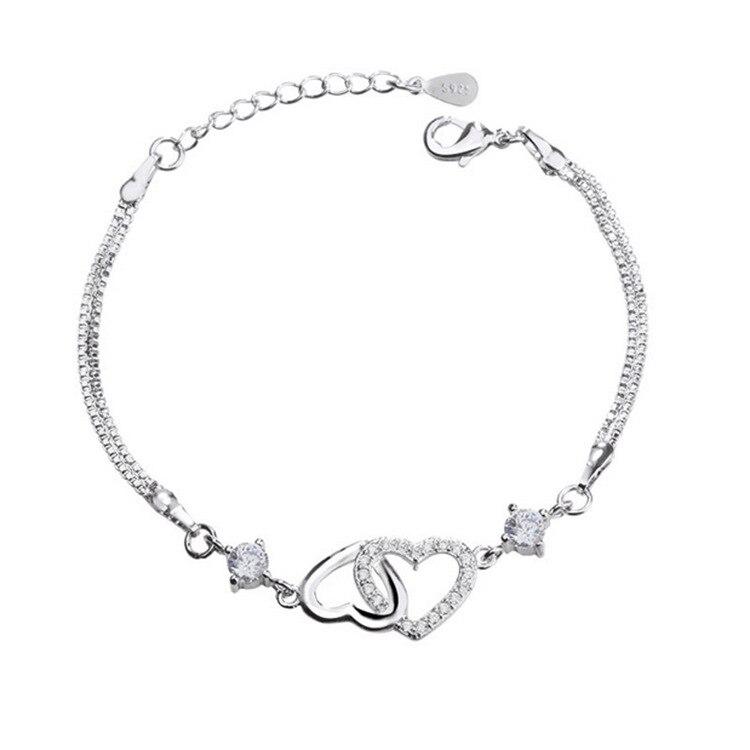 Double Heart Bracelet 2