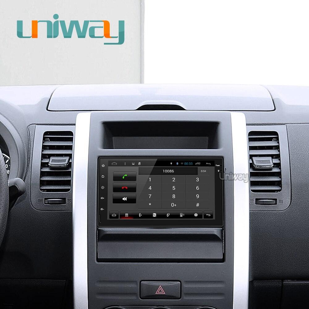 Uniway AWD7071 Octa core car dvd gps for nissan qashqai x-trail almera note juke universal multimedia car gps navigation player