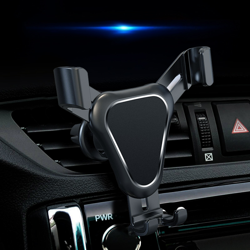 FLOVEME Gravity Automatically Lock Car Phone Holder For Iphone 11 Car Air Vent Outlet Phone Stand Mobile Phone Support Holders
