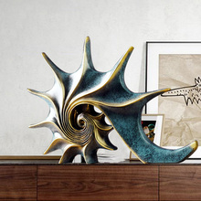 Home Decorations Accessories Marine Theme Conch Feng Shui Or