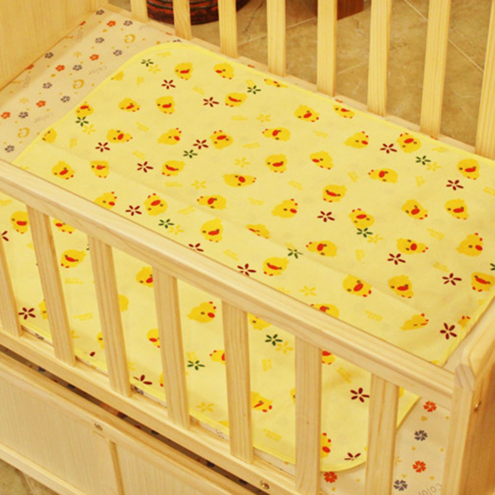 Comfortable Newborn Baby Diaper Changing Pad Cotton Breathable Waterproof Baby Nappy Changing Mat Urine Pad