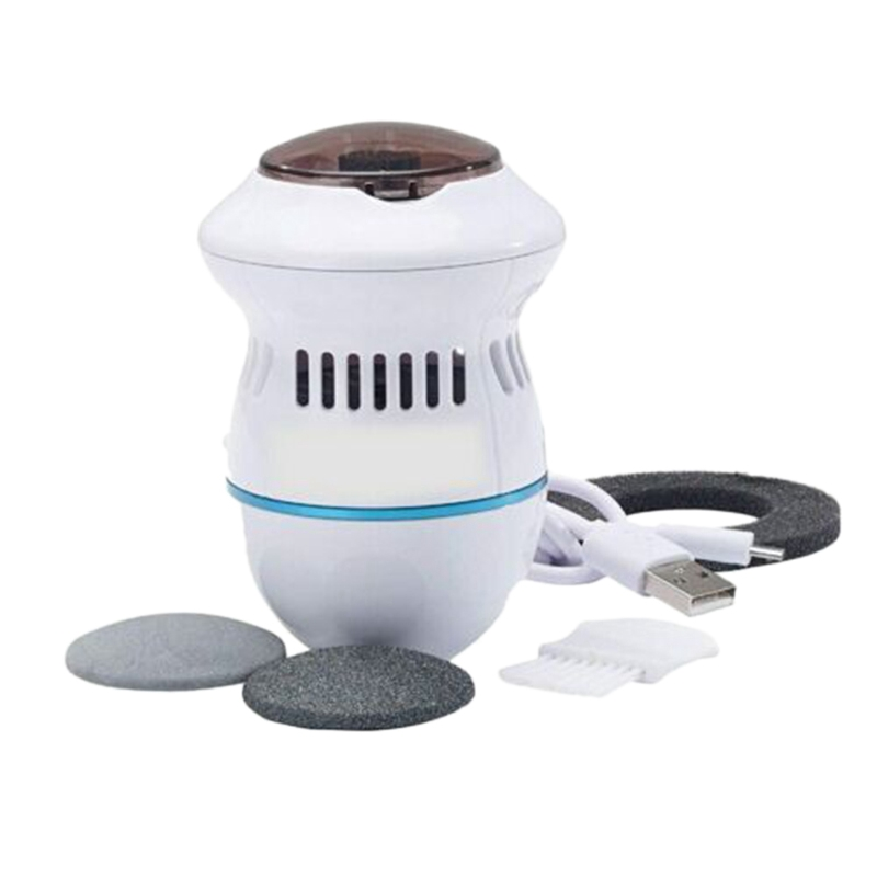 Remover Rechargeable Electronic Foot Files Clean Tools Cracked
