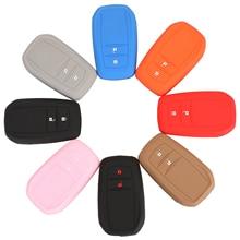 Bilchave – housse en Silicone pour clé télécommande de voiture, 2 boutons, pour Toyota Hilux Innova ZELAS Fortuner Protetc Hoder