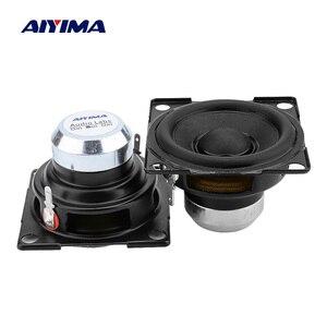 AIYIMA 2 Pcs 2 Inch Full Range Mini Speaker Units 6 Ohm 15 W Portable Hifi Sound Amplifier Music Speaker DIY Active Loudspeaker