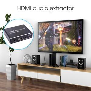 Image 5 - Kebidu HDMI 2.0 Audio Extractor 5.1 ARC HDMI Audio Extractor Splitter HDMI To Audio Extractor Optical TOSLINK SPDIF For Speaker