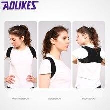 Practical Posture Spine Corrector Brace Adjustable Adult Back Support Belt Durable Shoulder Lumbar Correction Protection