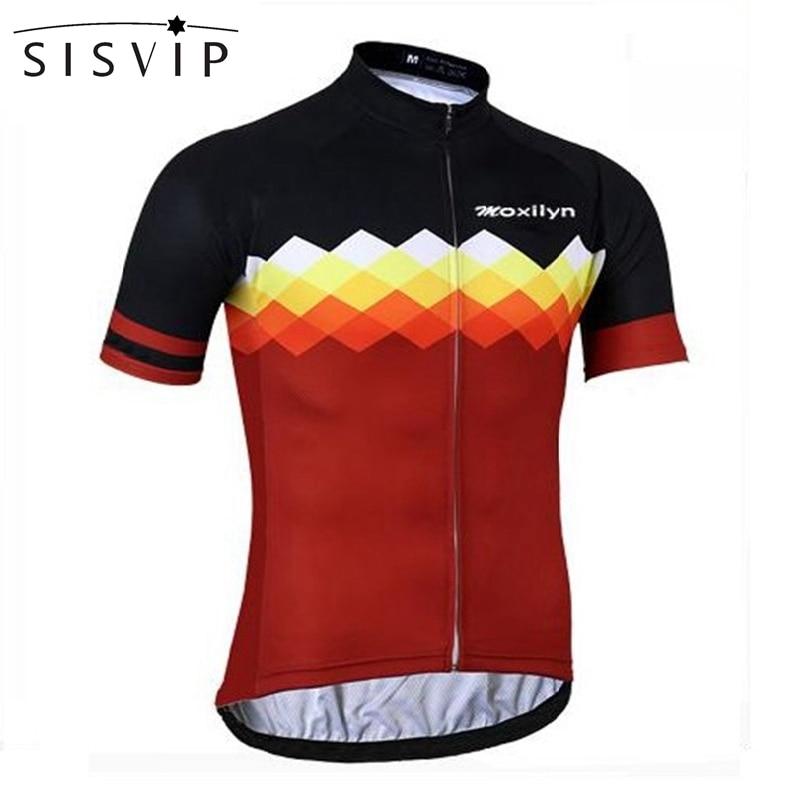 SISVIP Cycling Clothing Mtb-Bike Jersey-Tops Short-Sleeve Ciclismo Racing Ropa-Maillot
