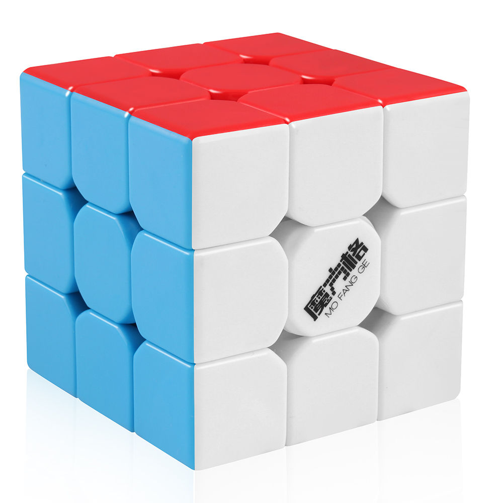 D-FantiX Qiyi Mofangge Thunderclap 3x3 Speed Cube Stickerless Smooth Magic Cube Puzzle For Children And Adult Learning Toys Gift