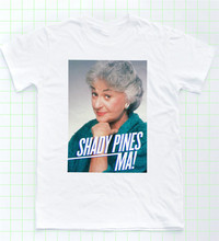 Dorothy T-shirt Golden Girls Shady Pines Tee Sophia Petrillo LGBT Retro TV Klasik Desain Kustom Kemeja TEE(China)