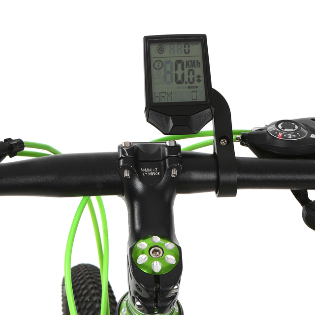 Lixada 3-in-1 Bike Computer Cycling Computers Bicycle Speedometer 2