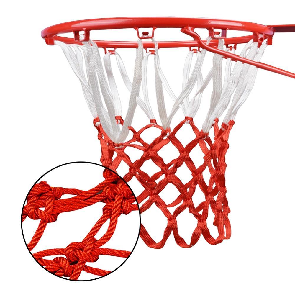 Высококачественная прочная баскетбольная сетка стандартного размера 45 см