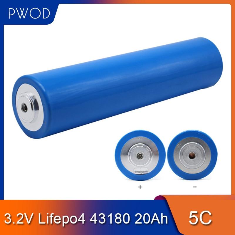 2323.46руб. 5% СКИДКА|43180 20Ah 3,2 V Lifepo4 батарея 5C разрядная перезаряжаемая литиевая батарея для электровелосипеда 12V 24V 36V 48V 60V DIY|Подзаряжаемые батареи| |  - AliExpress