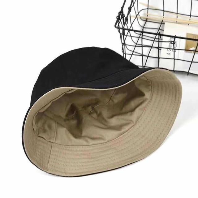 Double-sided Adult Cotton Hat Unisex Fashion Travel Beach Summer Panama 1