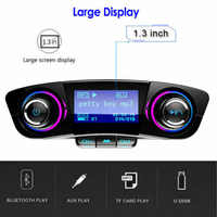 Bluetooth Handsfree Car Kit FM Transmitter Modulator Aux Audio USB MP3 Player Brand New And High Quality