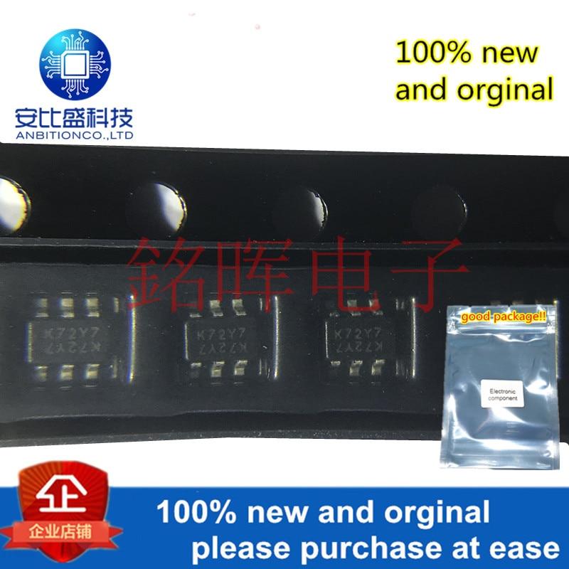 10pcs 100% New And Orginal 2N7002DW-7-F 2N7002 Silk-screen K72 SOT363 DUAL N-CHANNEL ENHANCEMENT MODE FIELD EFFEC 60V In Stock