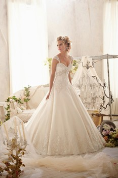 Vestido de noiva 2019 sexy Ball Gown Wedding Dresses Detachable Straps Lace Appliqued vestido casamento Bridal
