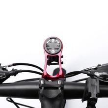 Bike Computer Holder Stem Top Cap Aluminum Alloy Bicycle Computer Mount Sports Flashlight Camera Holder Mount For Garmin Bryton