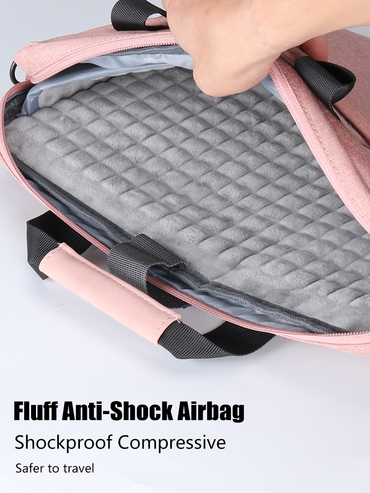 Laptop Bag case 13.3 14 15.6 17.3 inch Waterproof Notebook Bag for Macbook Air Pro 13 15 Computer Shoulder Handbag Briefcase Bag 5