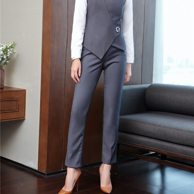 High Quality Fabric Women Business Work Wear   Pants   Trendy Skinny Leggings Female Trousers   Capris   OL Styles Formal   Pants