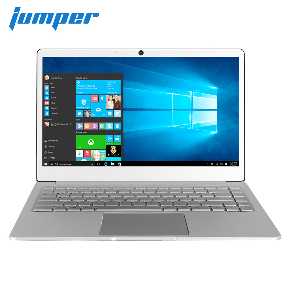 New 14 Inch IPS Laptop Jumper EZbook X4 Metal Case Notebook Intel Celeron J3455 6G 128GB Ultrabook 2.4G/5G WIFI Backlit Keyboard