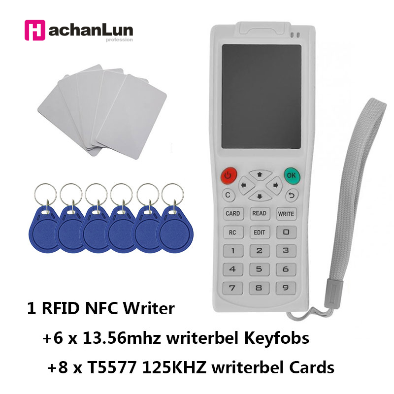 Newest iCopy 3/5 NFC IC Copier RFID ID Reader Writer Duplicator English Version iCopy5 with Full Decode Function Smart Card Key