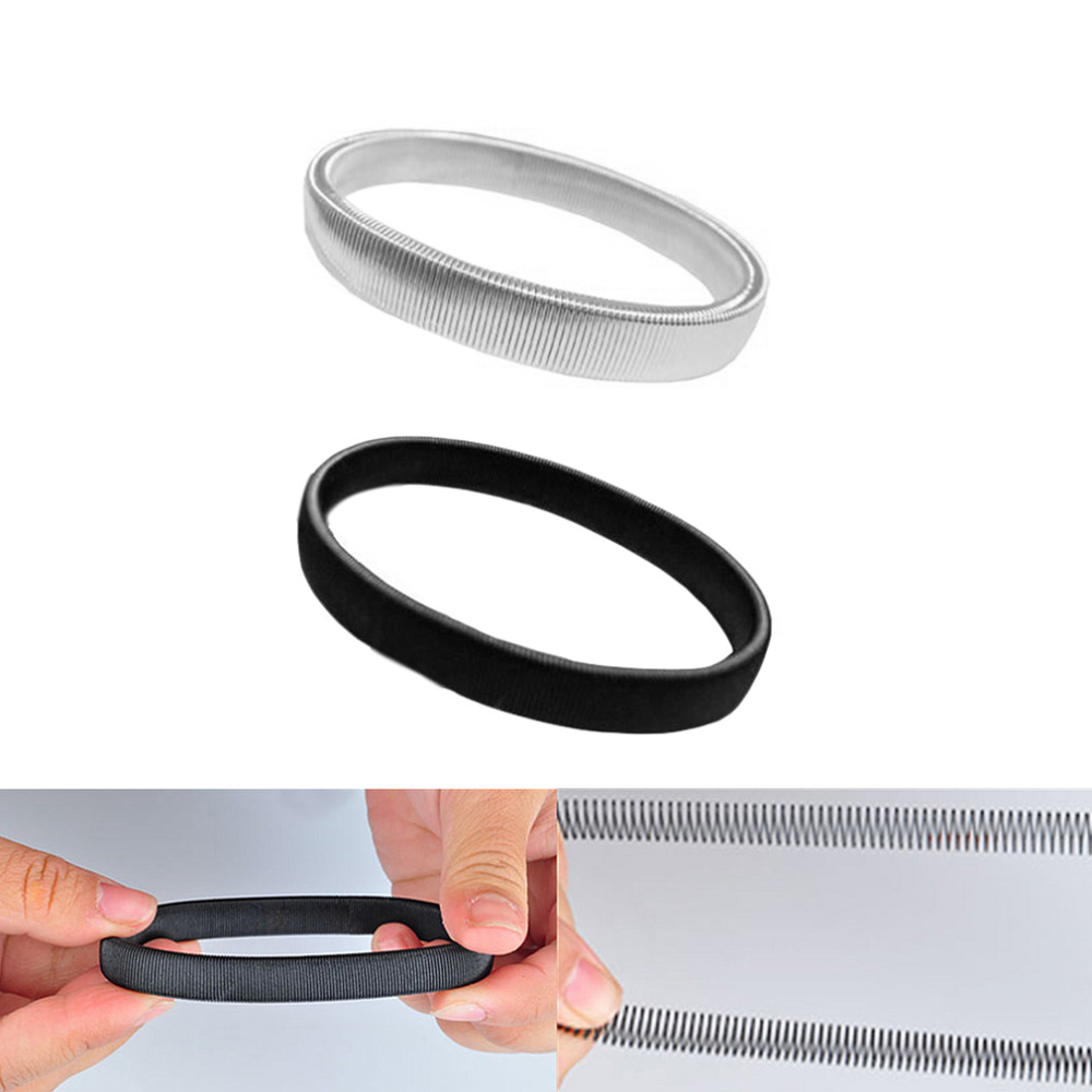 1PC Anti-slip Metal Shirt Sleeve Holders For Men Armband Stretch Garter Wedding Elasticate Armband Accessories