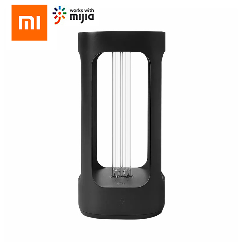 Xiaomi FIVE Smart Disinfection Sterilization Lamp UVC Ultraviolet Night Light Small Human Body Induction Home Office Mijia APP