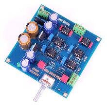 SYC-M7 NE5534 Preamplifier board / kit DIY base on 6010D preamp with ALPS pot assembeld hifi nac152 preamplifier board base on naim nac152xs preamp
