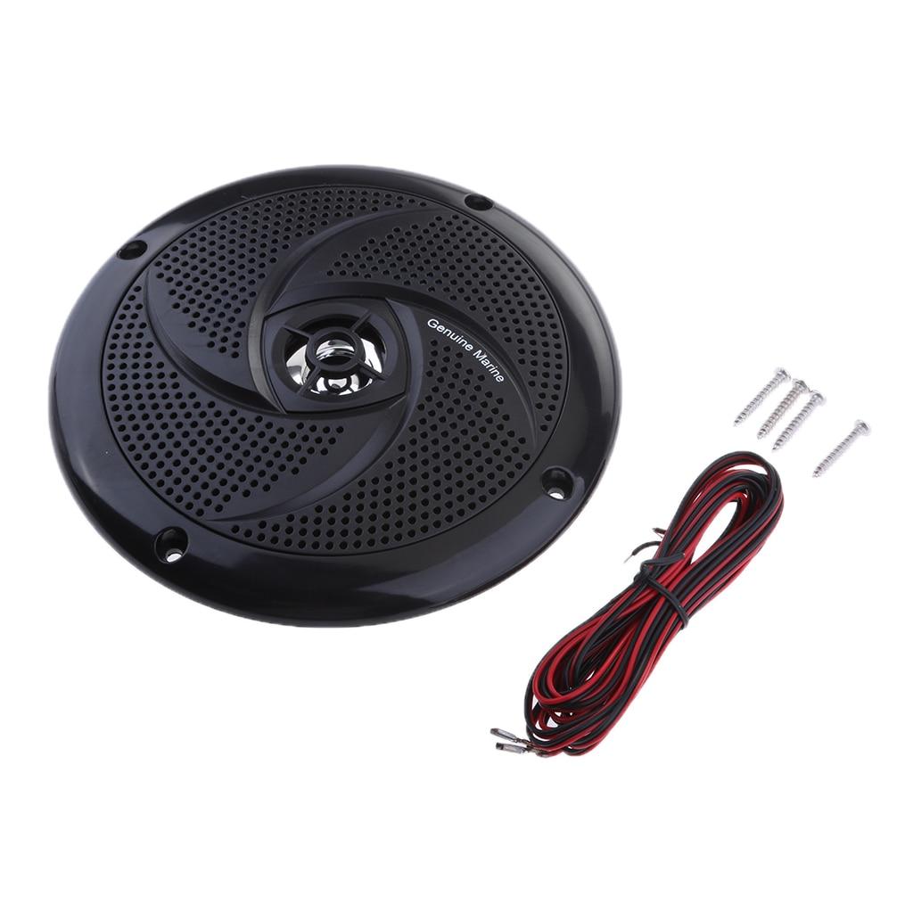 6.5 Inch Waterproof Marine Boat Audio Stereo Speakers Round Flush