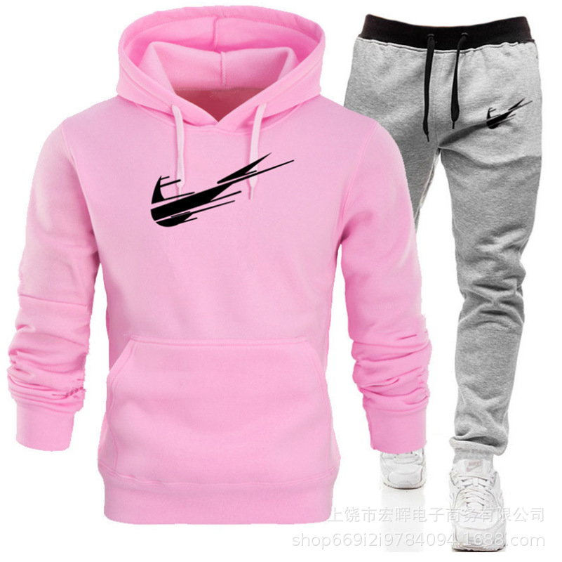 2019 New Style Men And Women Casual Sports Hoodie Suit