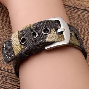 Image 5 - Fenix 6 22mm 26mm  Wristband Retro Nylon Nato Quick Fit Watch Band Strap for Garmin Fenix 5 Plus//935/Approach S60/Fenix 5X Plus