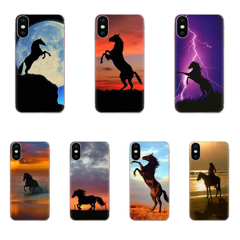 تشغيل الحصان متعددة الألوان الفاخرة حقيبة لهاتف xiaomi mi 3 mi 4 mi 4C mi 4i mi 5 mi 5S 5X6 6X8 SE برو لايت A1 ماكس mi x 2 ملاحظة 3 4