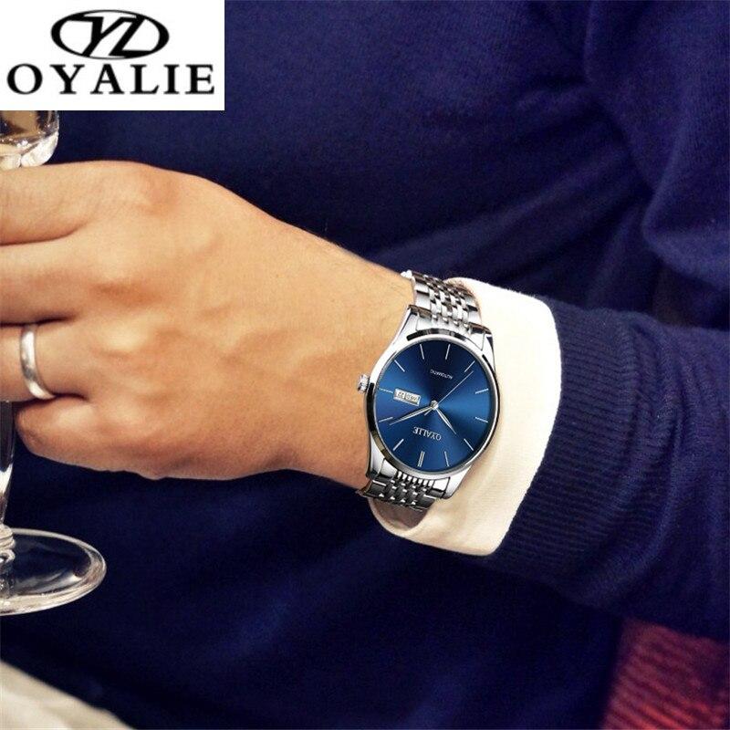 OYALIE Men Watch Fashion Automatic Mechanical Multifunction Watch Calendar Luxury Watch Waterproof Watch For Men Business Watch
