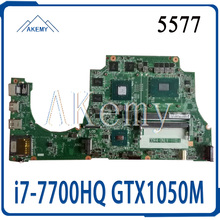 Für For DELL Inspiron 15 5577 Laptop Motherboard DAAM9AMB8D0 CN-0TF0TH 0TF0TH DDR4 w/ i7-7700HQ und GTX 1050 Test arbeit