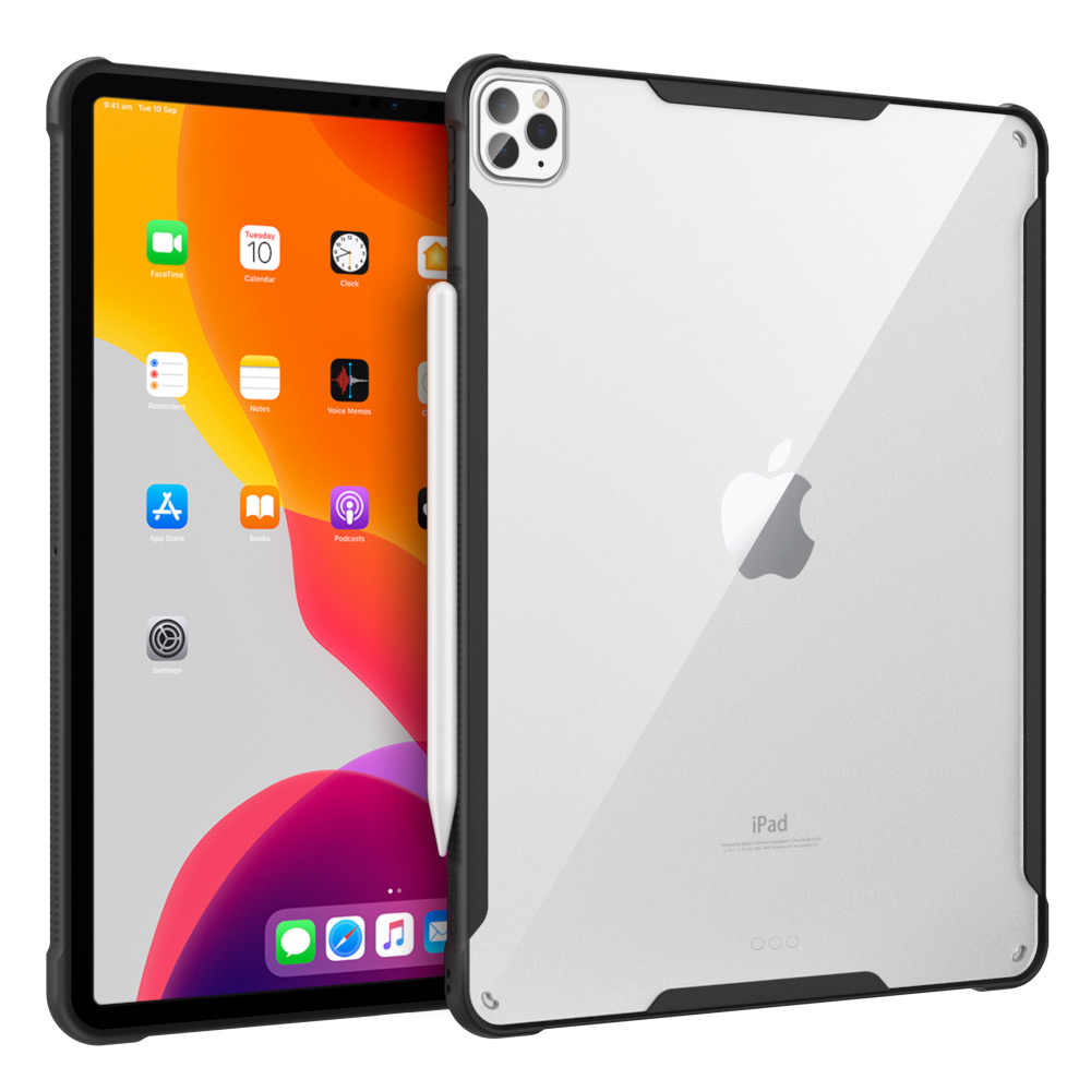Case For Ipad Pro 12 9 2020 4th Generation Support Apple Pencil 2 Charging Anti Scratch Transparent Hard Pc Back Shock Absorp Tablets E Books Case Aliexpress