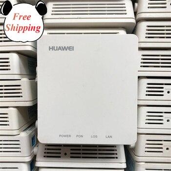 90% nuevo 20 piezas usado Huawei HG8010H/C EPON uni ftth fibra usada enrutador GPON UT 1GE lona sin cajas y Alimentación