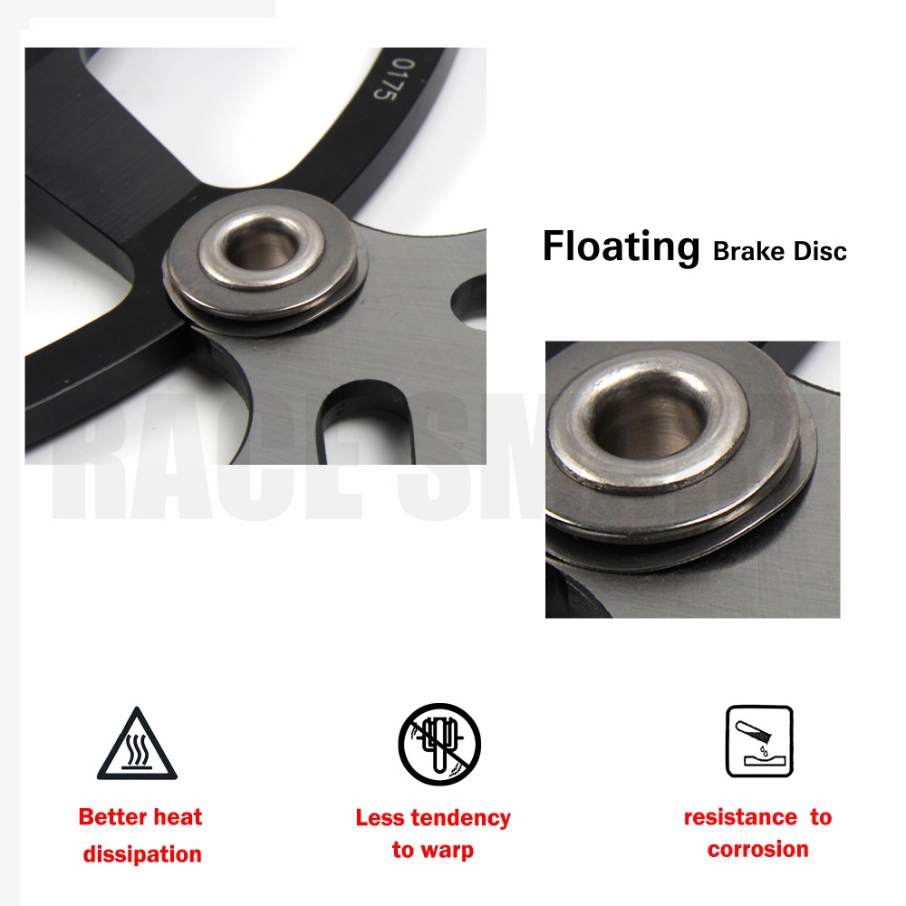 Floating brake disc_