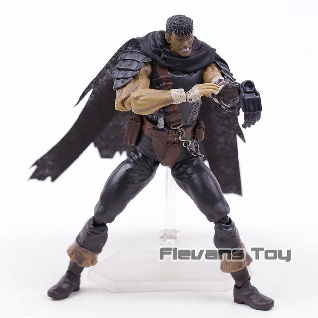 Berserk Figma 359 Guts Black Swordsman Ver Repoint Edition  PVC Action Figure Collectible Model Toy 2
