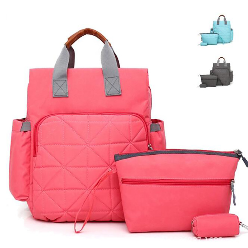 Mummy Maternity Nappy Bag Travel Large 2pcs/set Backpack Diaper Bags Handbag For Stroller Multifunction For Mom BRW004