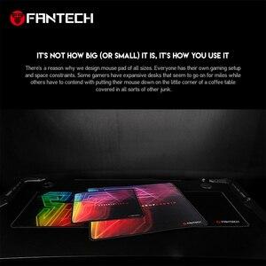 Image 2 - Fantech mp902 grande tapete de rato antiderrapante borracha natural e superfície lisa com borda de bloqueio para mousepad gamer fps lol mousepad